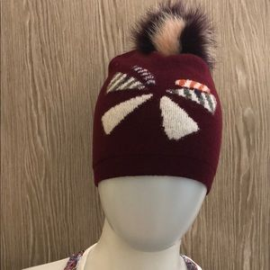 Fendi monster hat with Pom Pom Preloved